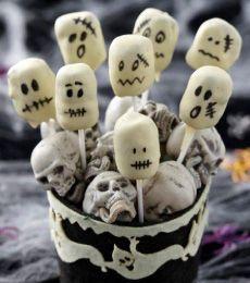 OREO Chocolate Ghost Truffles » Recipes » Cadbury Kitchen