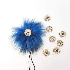 Cobalt Faux Fur Pom Poms – Warehouse 2020 More Code, Faux Fur Pom Pom, Black Nylons, Pom Poms, Cobalt, Warehouse, How To Make, Color, Colour