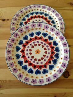 Emma Bridgewater Hearts & Flowers cake plates