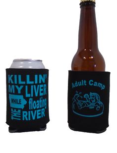 Stubby Holder Fork Off Funny Novelty Birthday Gift Joke Beer Can Bottle