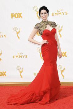 Laura Prepon aux Emmy Awards 2015