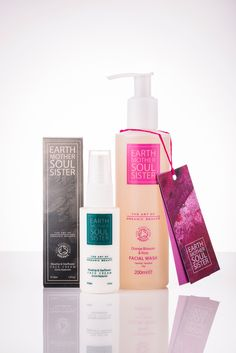 Earth Mother Soul Sister, Health, Beauty, Wellbeing… New Summer Bundle offer....  Facial Wash & Face Cream combination of your choice for £36