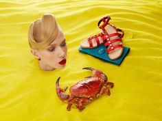 Photographer Aleksandra Kingo collaborated with Sagmeister & Walsh to create an all-year-round online and print ad campaign for Aishti Foundation. Glamour Photography, Editorial Photography, Camera Crafts, Sagmeister And Walsh, Surreal Photos, Fashion Photography Inspiration, Contemporary Photography, Editorial Fashion, Color Pop