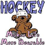 Hockey Makes Life More Bearable