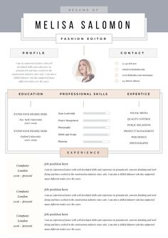 Imagine having a fully editable modern resume template which presents you in the creative and professional way. Resume template which can help You stand out Resume Cv, Resume Design, Cv Design, Design Ideas, Graphic Design, Free Business Card Templates, Free Business Cards, Templates Free, Creative Cv Template