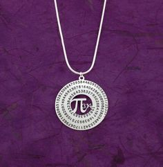 Hey, I found this really awesome Etsy listing at https://www.etsy.com/listing/182659255/pi-necklace-geometry-necklace-silver-pi