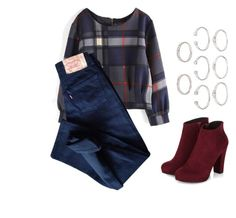 """Untitled #78"" by iitstayla on Polyvore featuring Levi's and Forever 21"