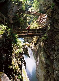 Gilfenklamm bei Sterzing/Südtirol - ein Muss!