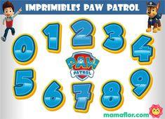 Paw Patrol Cake, Paw Patrol Party, Imprimibles Paw Patrol, Paw Patrol Birthday Theme, Image Digital, Ideas Para Fiestas, 4th Birthday, Disney, Baby Shower