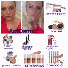Another stunning look created with Actiderm Cosmetics