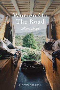 """""""Home Sweet Van"""" Life in a Sprinter Van with Juliana Linder"""