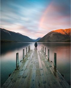 Lake Rotoiti in a dazzling mixture of colours. How picture perfect is this place!  Pic: @brentpurcell_le.nz