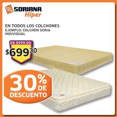 Para tener un mejor descanso, ven por tu colchón nuevo a un Híper precio. Sealy México,#springair