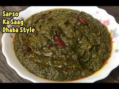 How To Make Sarso Ka Saag Dhaba Style /Sarso Ka Saag Recipe By Yasmin's Cooking - YouTube
