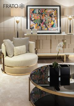 Frato at Harrods | Globally inspired interior lifestyle concept - The refurbished space includes brand new pieces of furniture, upholstery, rugs and lighting, blending classic and contemporary styles in a soft warm range of colours designed to provide up-to-date and cosmopolitan home furnishing solutions.