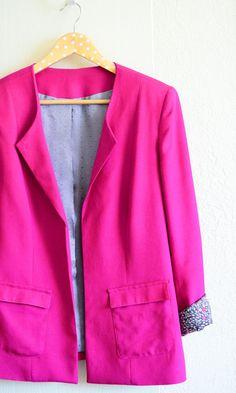 Kaisla blazer from Named Diy Fashion, Indian Fashion, Named Clothing, Kurta Style, Couture, Tee Dress, Mary Quant, Mini Skirts, Tees