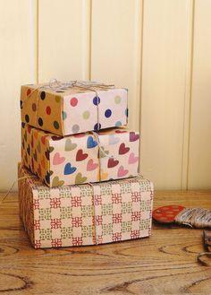 craft paper gift box | Flickr - Photo Sharing!