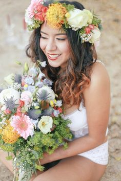 WHY ELOPING IS BETTER THAN A WEDDING - A STYLED INTIMATE BOHEMIAN ELOPEMENT // PHOTOGRAPHY: http://www.ellelily.com