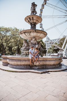 Shooting a TV Commercial in Budapest! — Wanderlust Us Budapest Travel, Tv Commercials, Us Travel, Hungary, Statue Of Liberty, Travel Inspiration, Fountain, White Jeans, Tourism