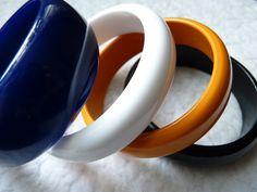 1980's plastic bangles