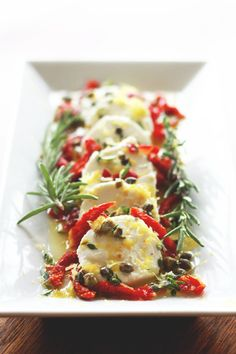 Goat Cheese Marinated with Lemon & Herbs