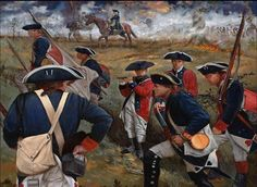 Revolutionary War - Battle of Brandywine fought on 11 Sept 1777.  Fifth Great GF, Edward Watterson, fought in this one. (reinsteinrevolution2010) -