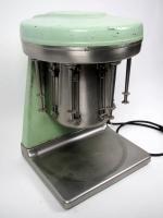 Mint, mint, mint!  Vintage Mint Green 5 Head Malt Mixer