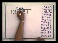 Short Division with remainder Long Division