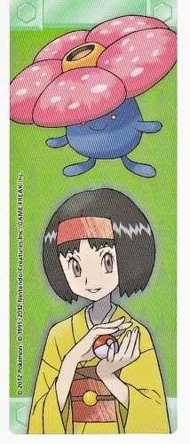 Pokemon Center 2012 Kanto Leaders Tournament Vileplume Erika Bookmark