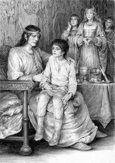 Young Turin, Thingol. Doriath. Narn i Hin Hurin, Silmarillion. Denis Gordeev.