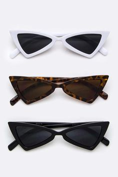 """Sharp Shooter"" Retro Iconic Triangle Sunglasses"