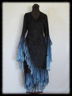 Wrap dress from Firebird Fae Couture
