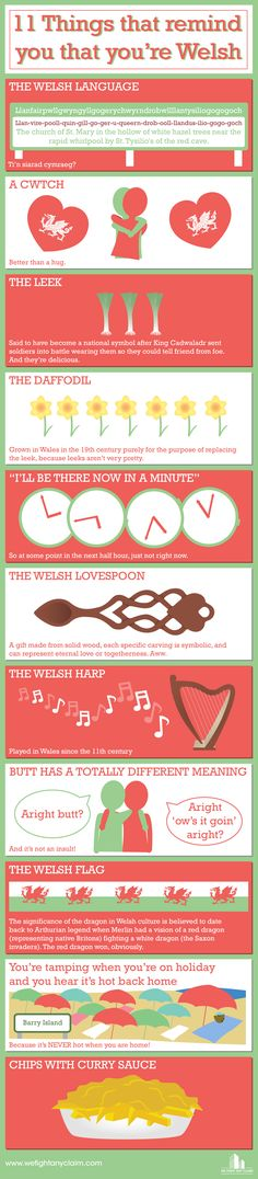 St David's Day Infographic
