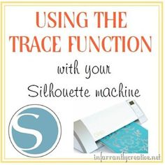 If you have a Silhouette machine and haven't quite figured out how to trace objects or shapes you find on the internet then this tutorial is for you. This will go through the steps of taking an image and tracing it to be able to cut it out in your Silhouette studio program.