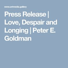 Excerpt from Peter Emanuel Goldman's Press Release Space Photography, Press Release, Night Life, My Love