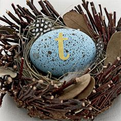 Huevo de Pascua Decoraciones - Manualidades de Pascua