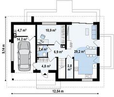 Casa moderna com 4 quartos (a)