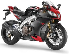 Aprilia RSV4. I like the new fairing paint scheme, but that square stock can is atrocious and Aprilia's sit way too high in the seat for me. Nice to look at though.