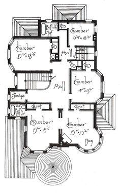 George F. Barber homes | 2nd Floor Plan