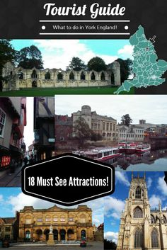 18 Must See Attractions York England! - Ultimate Tourist Guide! York Minster, Castle Museum, Museum Gardens, York Shambles and More!