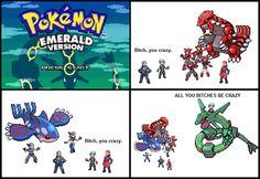Pokémon Emerald Kyogre Groudon Rayquaza Team Aqua Team Magma