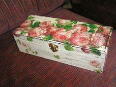 Box Decoupage, Box, Handmade, Jewels, Snare Drum, Hand Made, Handarbeit