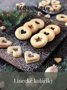 Linecké koláčiky z mandľovej múky - Vegan Lady Doughnut, Vegan, Cookies, Baking, Desserts, Lady, Food, Crack Crackers, Tailgate Desserts