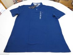 Men's Tommy Hilfiger Polo shirt XXL slim fit solid NEW 7845144 Kings Blue 404 #TommyHilfiger #polo