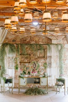 2 - A Chic Botanical Wedding Shoot in Greece