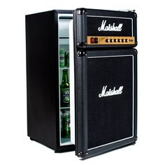 The Marshall Amp Compact Fridge is automatic wish list must-have for all you music lovers. One of the most popular amps in the world has been transformed to a convenient compact fridge. Please allow 1