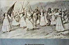 Bregenzerwälderinnen besiegten Schweden History, Painting, Art, Sweden, Art Background, Historia, Painting Art, Kunst, Paintings