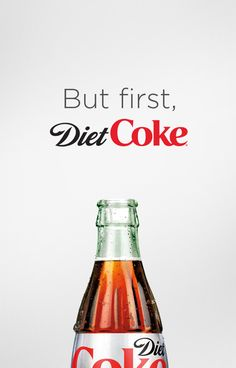 Take on the day with the taste of Diet Coke.