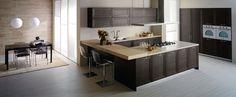 modern u shaped kitchen design by kaitebau Modern U Shaped Kitchens, L Shaped Kitchen, Canapé Design, Interior Design, Modern Kitchen Plans, Classic Kitchen Furniture, Kitchen Island, Kitchen Cabinets, Style Deco