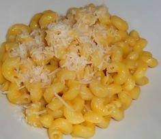 Pasta con crema di zucca e Parmiggiano Reggiano